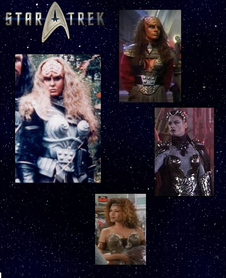 Female Klingon Breast Plate