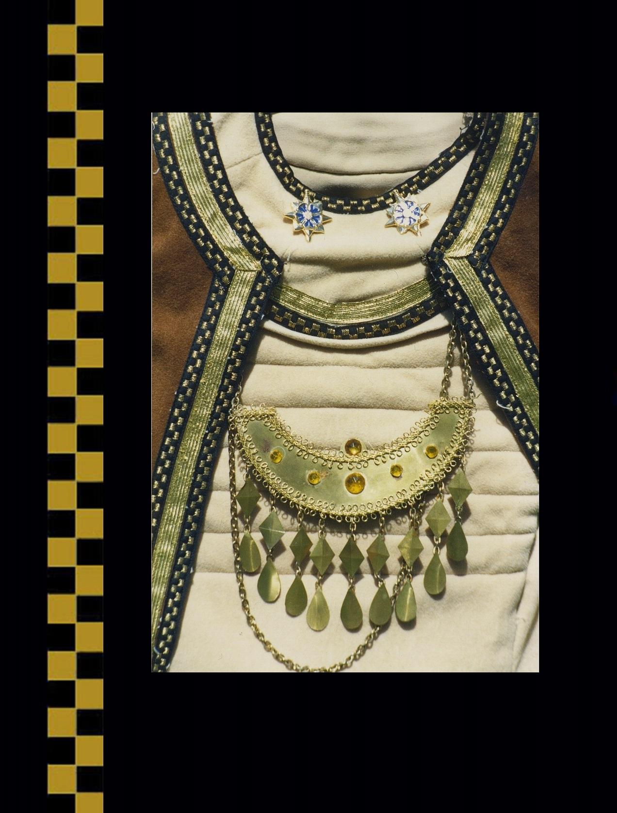 Colonial Warrior, dress uniform/dress medallion