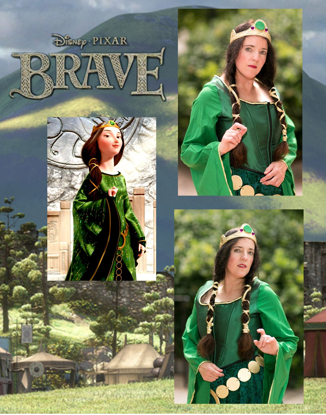 "Queen Elinor from ""Brave"""