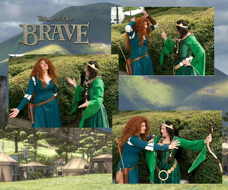 Queen Elinor and Merida