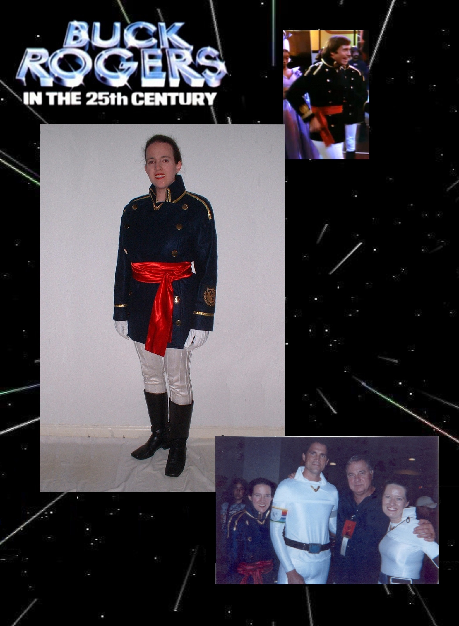 "Earth Defense Directorate dress uniform, ""Buck Rogers in the 25th Century"""
